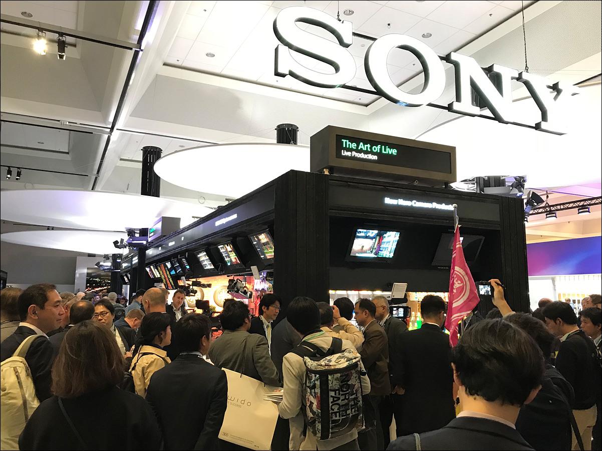 Sony 부스