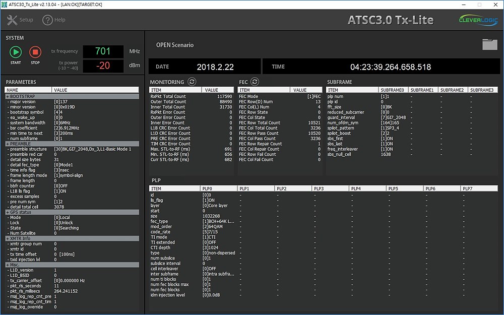 그림6. CL-ATL3000_GUI