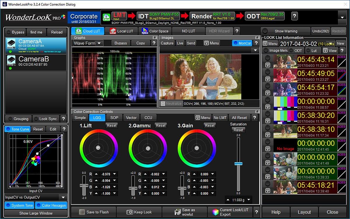 컬러 관리 소프트웨어, WonderLook Pro(WLP)