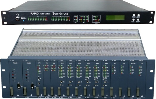 주력제품인 집합형 오디오 코덱과 단독형 오디오 코덱