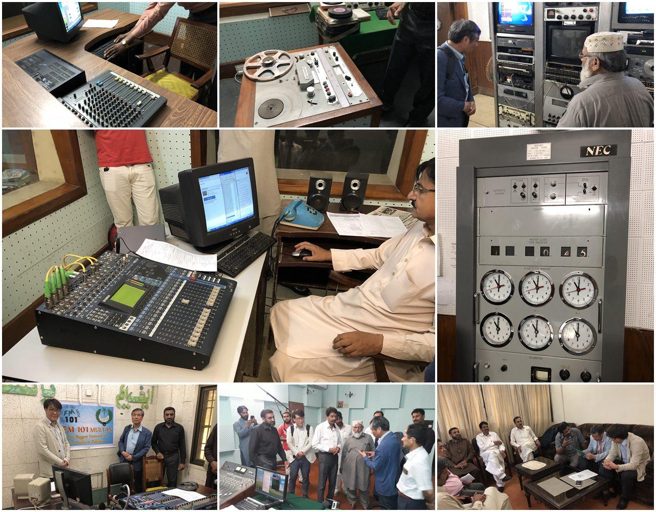 PBC 기존 장비 점검 및 사업 진행 논의