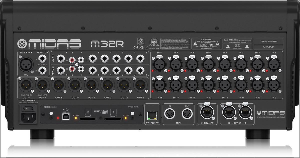 M32R LIVE 패널 단자부