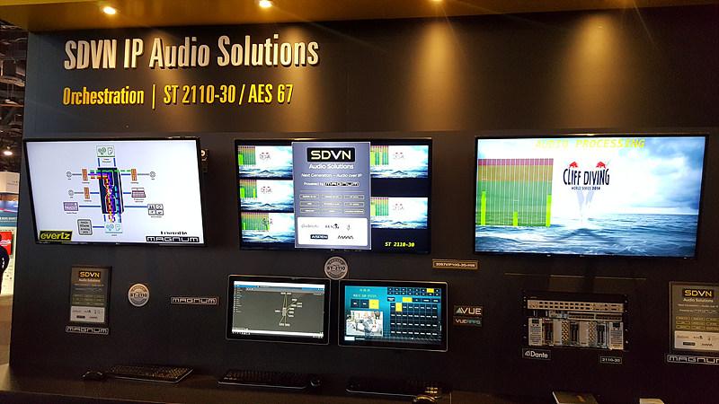 오디오 신호 라우팅을 위한 SDVN
