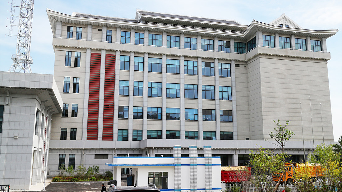 연변방송국 신사옥 본관