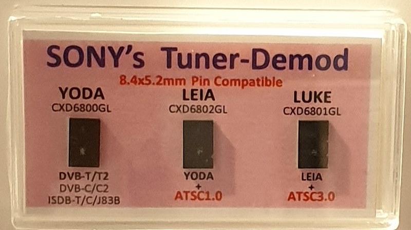 SONY의 ASTC 3.0 수신칩