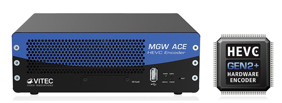 세계 최초의 HEVC 인코더인 MGW ACE