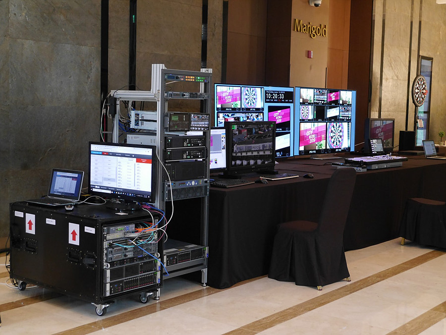 이매진 SDI/IP Hybrid SCR System Demo
