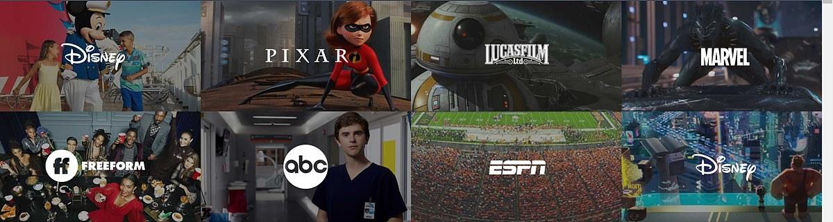 그림 3. 월트 디즈니 컴퍼니의 주요 미디어 계열 / 출처 : The Walt Disney Company web page