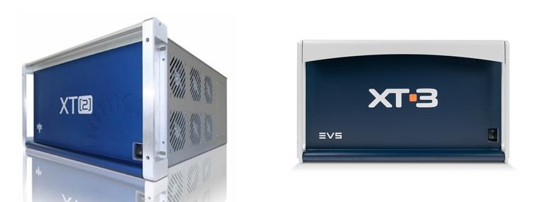 그림 5. EVS XT2(좌) / 그림 6. EVS XT3(우)