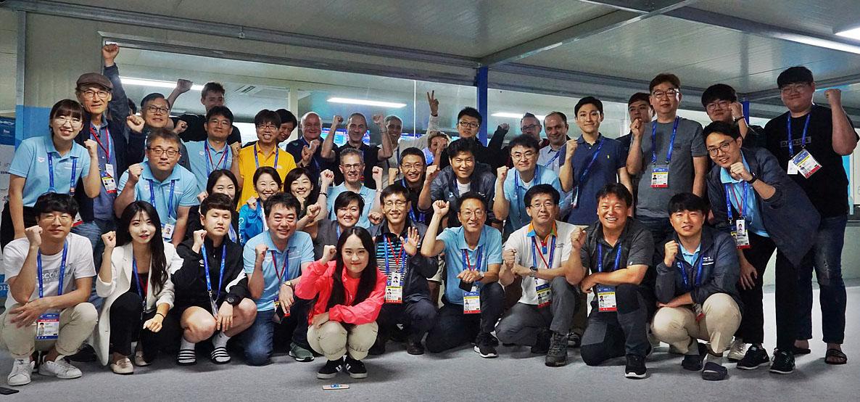그림 6. 주관방송사(HB)와 방송권자(RHB) IBC팀