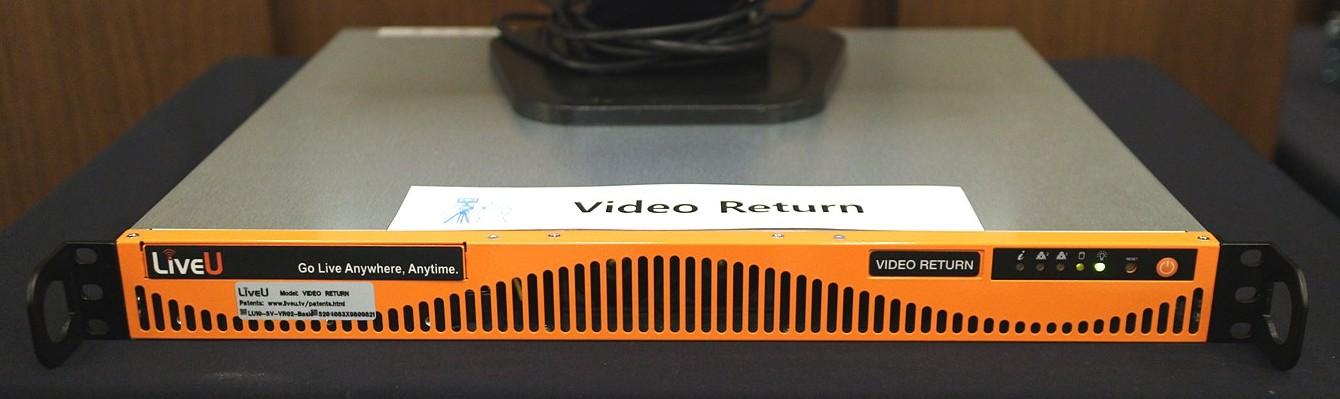 Video Return 서버