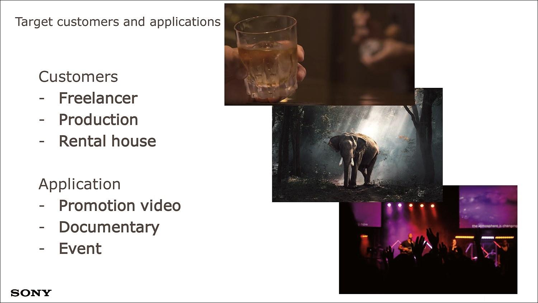 FX9은 다큐멘터리, 뮤직비디오, 드라마 제작부터 이벤트 촬영에 이르기까지 다양한 영상 영역을 커버한다
