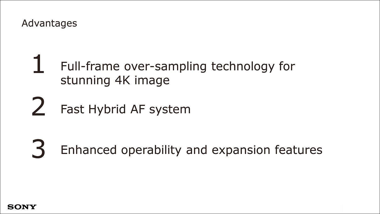 크게 4K 이미지와 AF, 기능 확장을 설명하며 세미나가 진행되었다