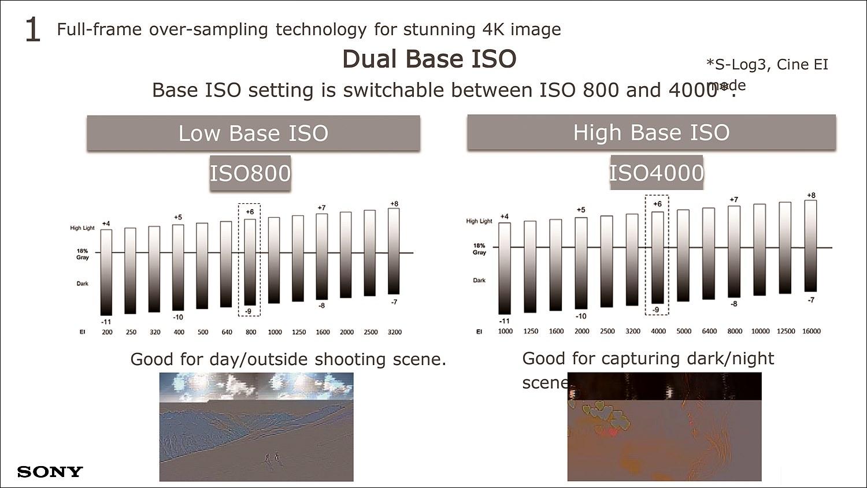 800과 4000의 듀얼 베이스 ISO로 촬영 조건에 맞는 최적의 영상미를 구현한다