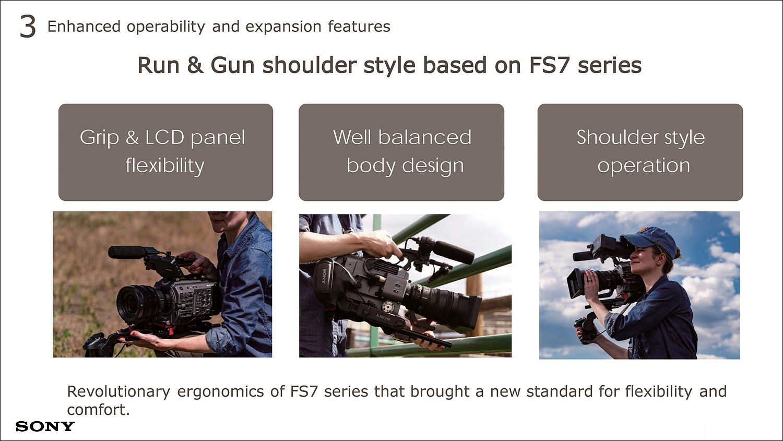 FS7 시리즈에 기반한 Rus & Gun 스타일을 지향한다