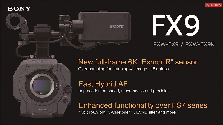 풀프레임 6K Exmor R 센서와 하이브리드 AF 등 전체적으로 업그레이드 되었다