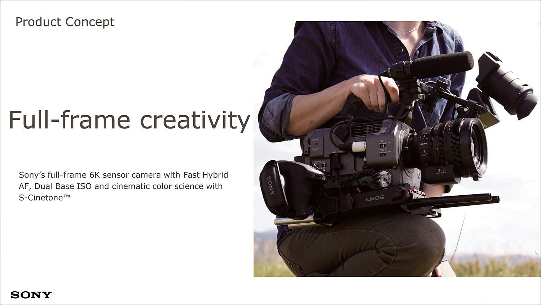 6K 센서, 향상된 AF, 듀얼 ISO, 시네마틱 컬러로 촬영자가 최적의 창의성을 발휘할 수 있게 한다