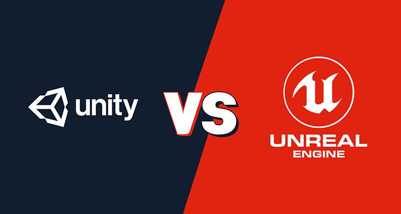 그림 4. Unity와 Unreal