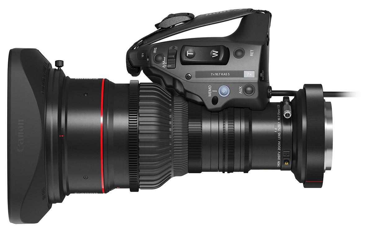 8K 방송 카메라 전용 포터블 줌 렌즈 7x10.7 KAS S_1