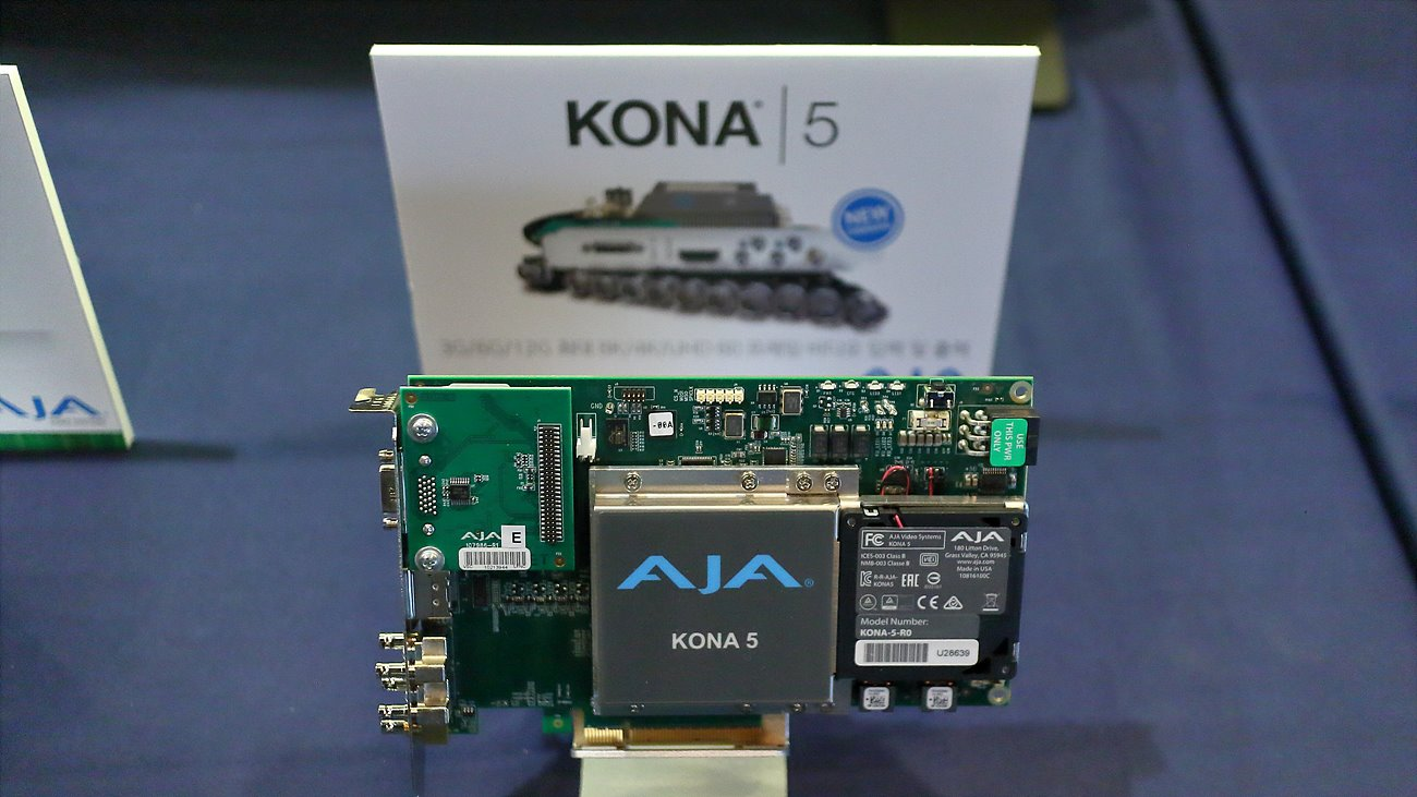 8-lane PCIe 3.0 I/O card KONA 5