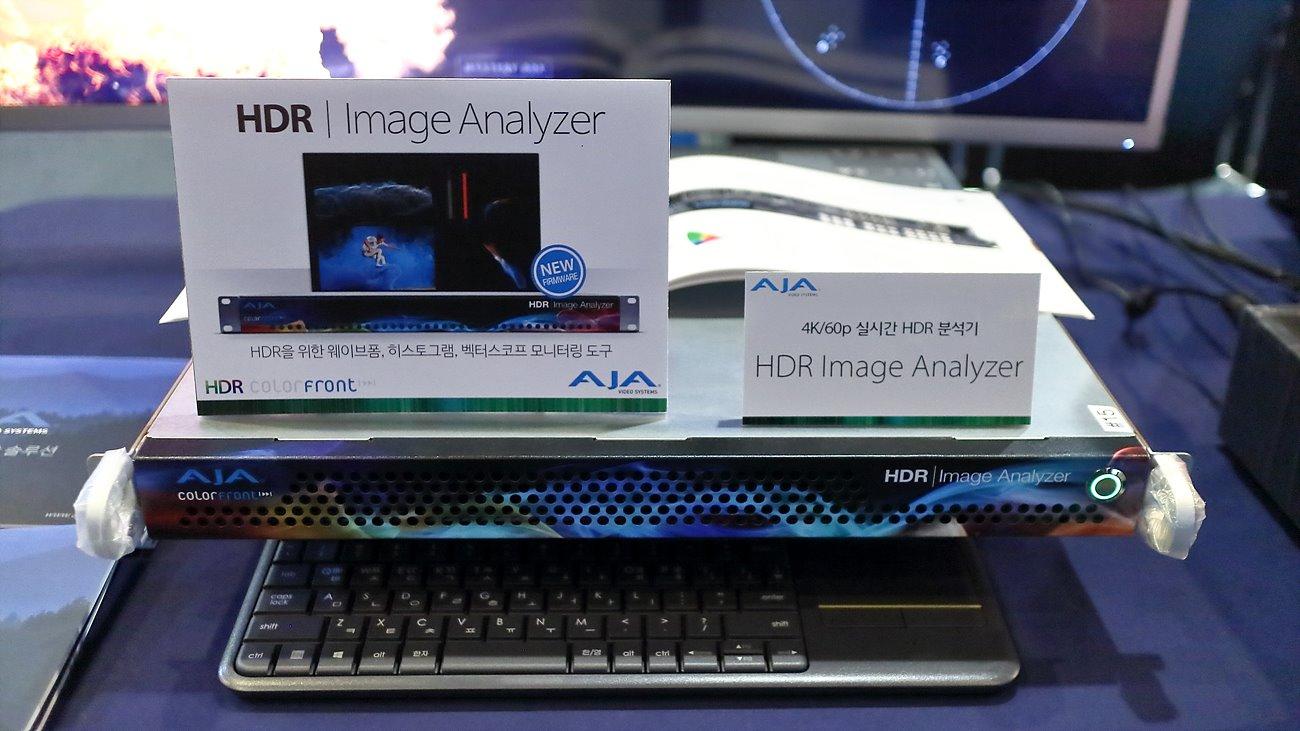 4K/60p 실시간 HDR 분석기 HDR Image Analyzer