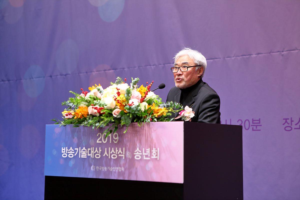 축사 중인 안덕상 초대 연합회장