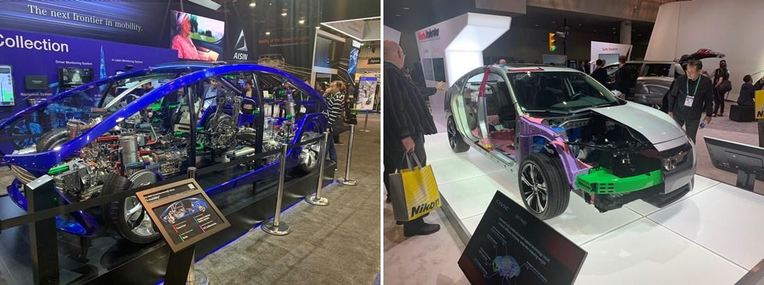 AISIN 'i-mobility / HONDA 차량 경량화