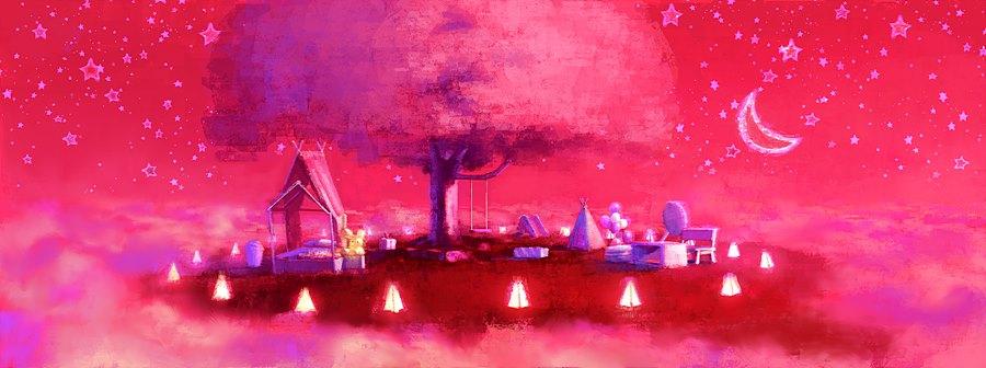 그림 7. '나연이의 천국 - 밤' 컨셉아트