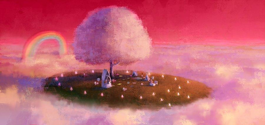 그림 8. '나연이의 천국 - 낮' 컨셉아트