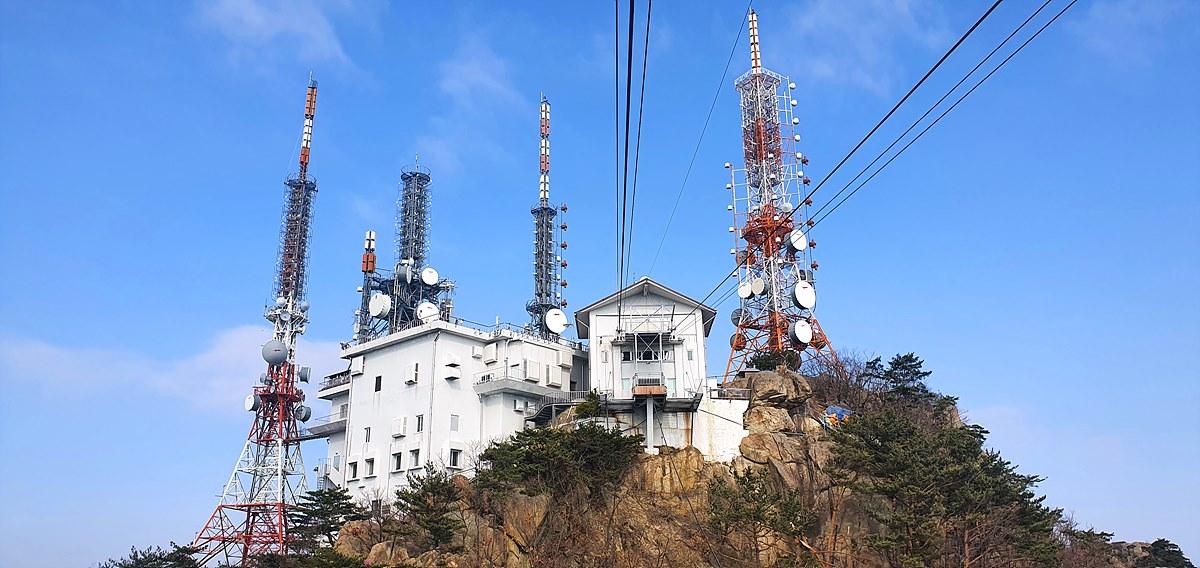 KBS 관악산송신소 전경