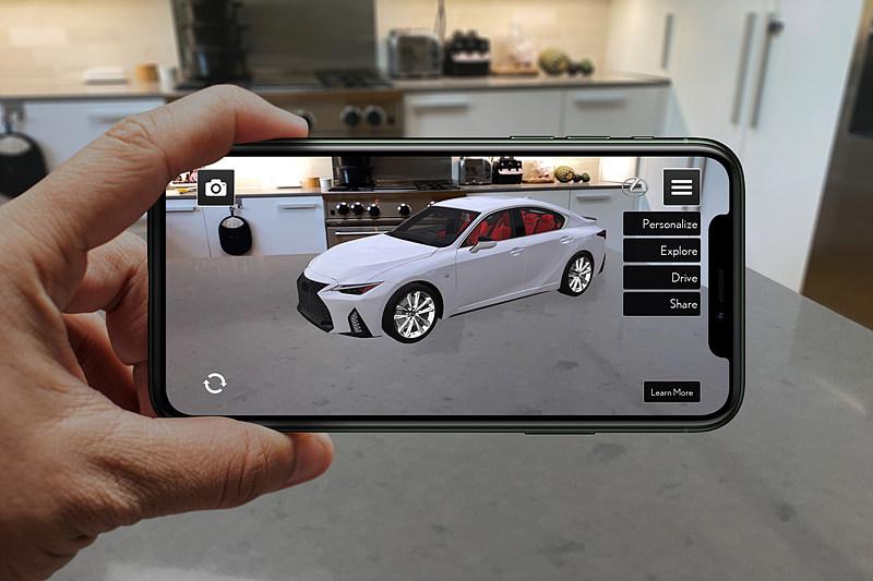 그림 6. 렉서스(Lexus)의 AR 전시장 / 출처 : Gartner (2020. 6. 29).