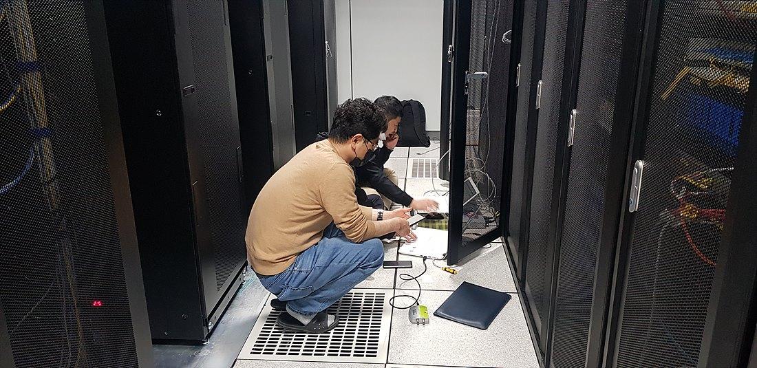 IPTV 인코더 설치 현장