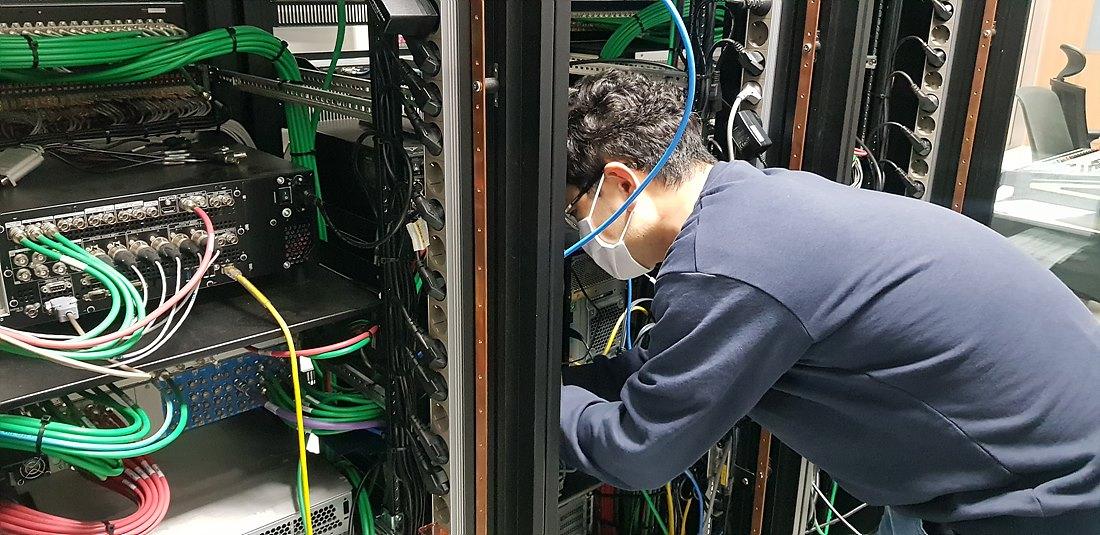 인코딩실 신호 점검
