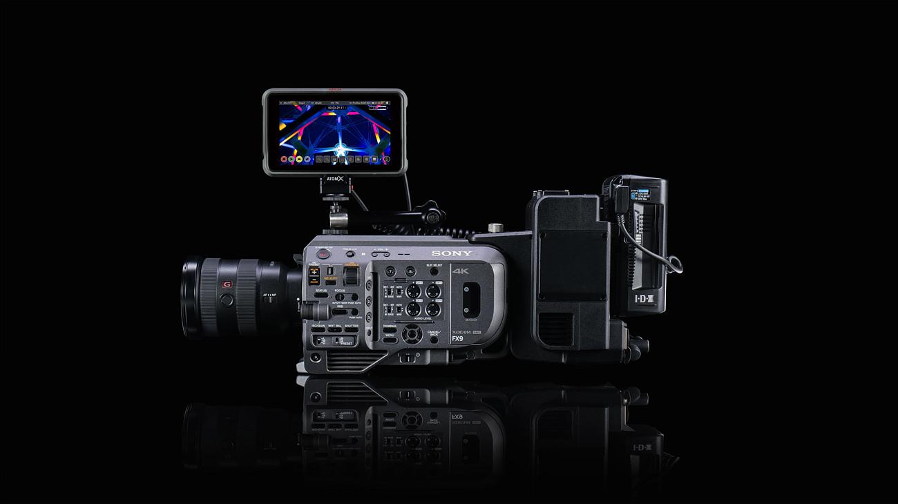 Ninja V PLUS와 Sony FX9