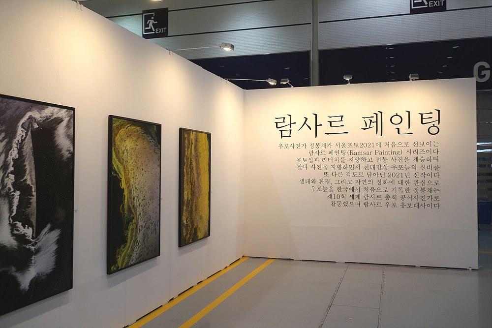 우포 사진가 정봉채의 '람사르 페인팅'