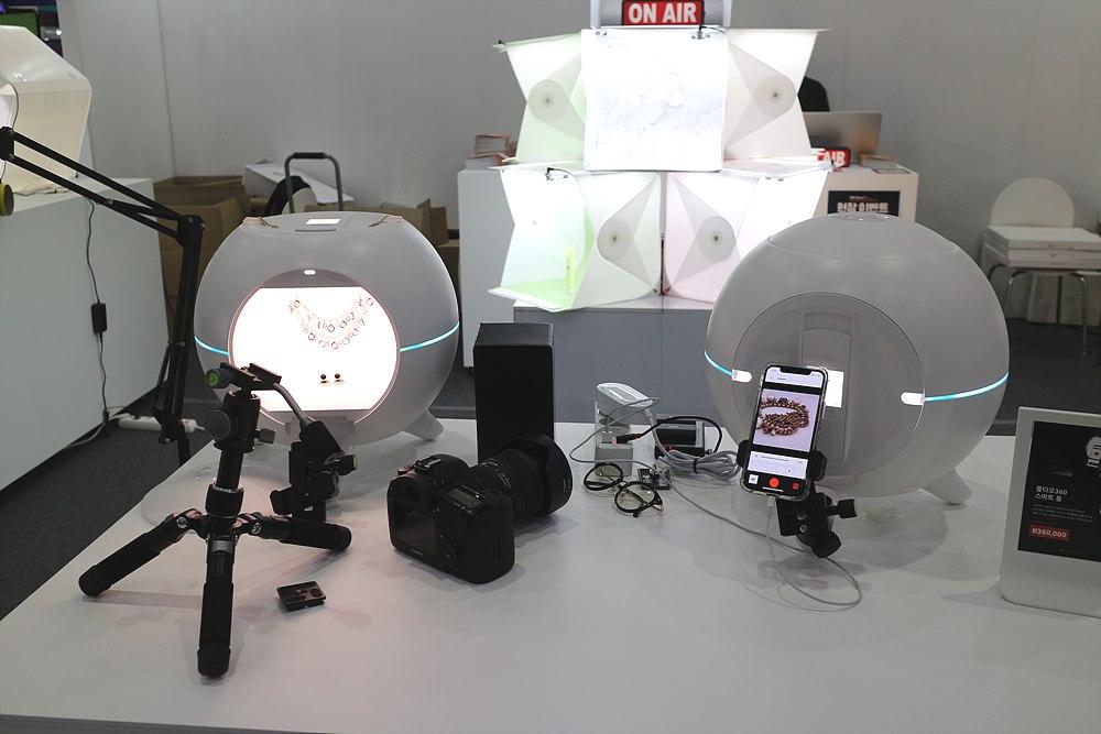 360 스마트 돔 촬영박스