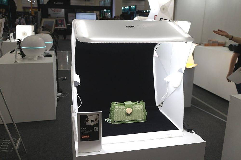 접을 수 있는 촬영 박스 폴디오 시리즈