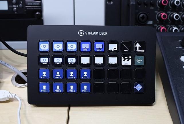 간편한 컨트롤러 Stream Deck XL