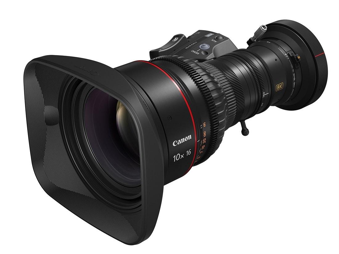 8K 방송용 줌 렌즈 10x16 KAS S