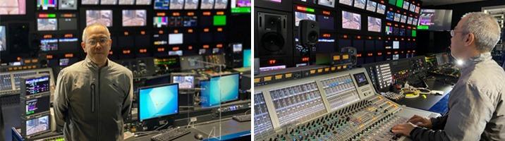 Matrox Extio 3 IP KVM의 성능과 가능성을 확인한 ABC 방송국의 기술 담당자 Masayuki Kanda